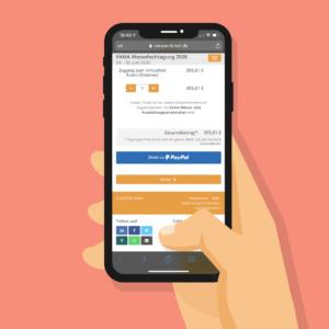 FAMA-Ticketshop-Smartphone